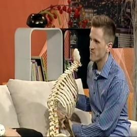 VIDEO: Pogovor o hrbtenici